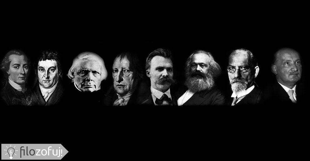 filozofowie niemieccy Hegel Nietzsche Heidegger