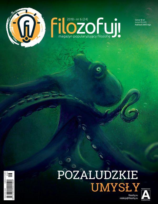"""okładka: dwudziesty czwarty numer """"Filozofuj!"""""""