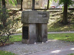 pomnik Kanta wGołdapi
